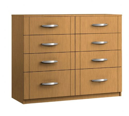 Capri 8 Drawer Twin Chest